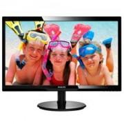 Монитор, Philips 246V5LSB, 24 инча Wide TN LED, 5ms, 10M:1 DCR, 250 cd/m2, 1920x1080/246V5LSB/00