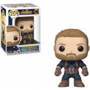 Funko Pop Captain America Infinity War Con Barba Original