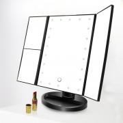 FlinQ Make up spiegel met LED verlichting - 22 LEDS - Vergroting - Cadeauverpakking