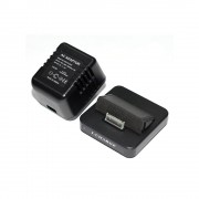 Camera spion disimulata in statie de incarcare LawMate PV-AC35, 450 LTV, detectia miscarii, iPhone/iPad
