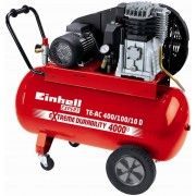 Бензинов маслен компресор EINHELL TE-AC 400/100/10 D, 2200W, 3к.с, 400