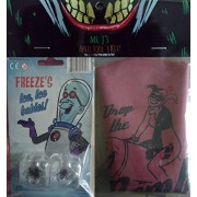 Mr Js April Fools Kit! Freezes Ice, Ice Babies & Harley Quinn Whoopee Cushion