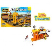 Construct base Engineer a perfect construction theme - Watch the youngster play with the constructional set-up; let the