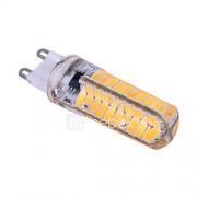7W E14 G9 G4 BA15D 2-pins LED-lampen T 80 SMD 5730 500-600 lm Warm wit Koel wit 2800-3200/6000-6500 K Dimbaar Decoratief AC 220-240 AC