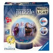 Puzzle 3d Frozen Lampara Nocturna - Ravensburger