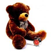 Brown 3.5 Feet Bow Teddy Bear