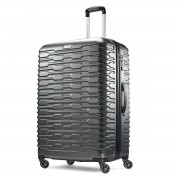 Samsonite Tread Case 71Cm Charcoal Hardside Spinner Suitcase