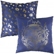 Harry Potter - Hogwarts Pillow 40 x 40 cm Blue