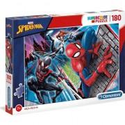 Puzzle Clementoni SuperColor: Marvel Spider-man, 180 piese