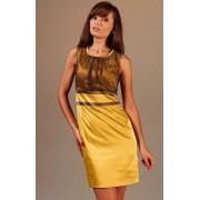 Valerie sukienka (miodowo-brązowy)