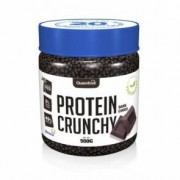 Quamtrax Nutrition Protein Crunchy sabor Chocolate Preto Quamtrax 500 g