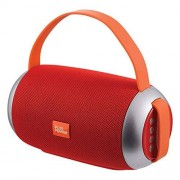 PLUS POWER Bocina Bluetooth Portatil MP3, USB, SD, AUX y Manos Libres 200 W (Rojo)