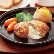 レンジでジューシー! チーズインハンバーグ18個【QVC】40代・50代レディースファッション