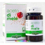 Almaecet 60 db v-kapszula 437 mg almaecet koncentrátum, zsírégetés, súlykontroll, lúgosítás - Erbavita