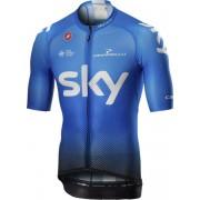 Castelli Team Sky 2019 Climber's 3.0 - maglia bici - uomo - Blue