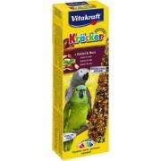 Baton papagali nuci-curmale, 2buc, 180gr, Vitakraft