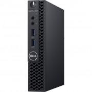 PC Dell OptiPlex 3070, WJN6J, Micro, Intel Core i3 9100T 3.1GHz, 128GB SSD, 4GB, Intel UHD 630, Windows 10 Professional, crna, 12mj, Tipk., Miš
