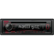 Kenwood Kdc-120ur Autoradio Android 1 Din Sintolettore Cd / Mp3 Radio Fm Potenza 200 Watt Usb Ingresso Aux Illuminazione Rosso Colore Nero - Kdc-120ur