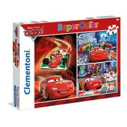 "Clementoni ""Cars"" 3 in 1 Puzzle (144 Piece)"