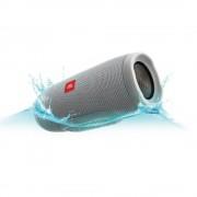 SPEAKER, JBL Charge 3 Bluetooth + вградена батерия с възможност за зареждане на мобилни устройства, Сив