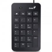 Цифрова клавиатура GENIUS NUMPAD i120, USB, Черна, 31300727100