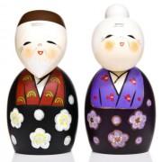 Japonské panenky Kokeshi Tomoshiraga 13 cm