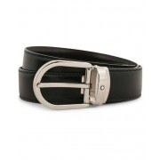 Montblanc Reversible Horseshoe Buckle 30mm Belt Black