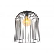 QAZQA Design hängande lampa svart - Wire Knock