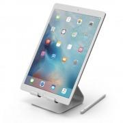 Elago P4 Stand - дизайнерска алуминиева поставка за iPad и таблети (сребриста)