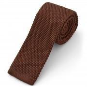 Tailor Toki Cravate tricotée chocolat