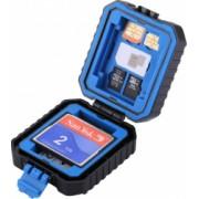Carcasa de protectie depozitare carduri 11 compartimente toate tipurile de card/SIM protectiva Puluz