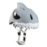 Casca bicicleta copii Shark White cu LED