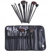 Make-up set (12 st sminkborstar)