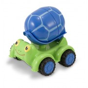 Melissa & Doug Scootin Turtle Cement Mixer Toy