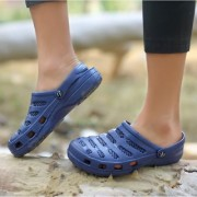 Svaar Comfy Navy Blue Men Clog Crocs