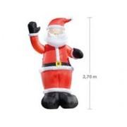 Infactory Père Noël gonflable avec bras mécanique - 270 cm