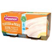 Plasmon (Heinz Italia Spa) Plasmon Omogeneizzato Di Pesce Platessa Con Patate 2x80g