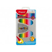 Creioane colorate Maped COLOR`PEPS, 12 buc./cutie