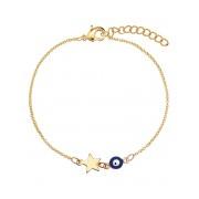 Fashionize Armband Eye Star Navy