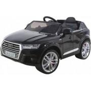 Masinuta electrica cu scaun de piele Audi Q7 Black