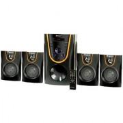 Zeston ZX4005 Home Theatre System Audio Speaker(Black 4.1 Channel)
