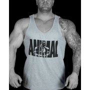 "Animal ""Snak"" Iconic Grey Tank"