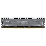 Модуль памяти Crucial Ballistix Sport LT Grey DDR4 DIMM 2400MHz PC4-19200 CL16 - 8Gb BLS8G4D240FSBK