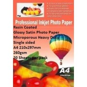 E-Box Resin Coated Glossy Satin Photo Paper-