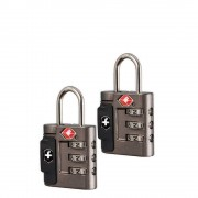 Victorinox Travel Accessories 4.0 Combination Lock Set grey (TSA) kofferslot