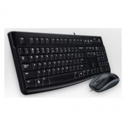 Logitech Mk120, Usb, Azerty, Francés, Negro, ptico, - Windows Xp, Windows Vista, Windows 7 - Linux Kernel 2.6+