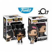Set Rocks Funko Pop Slash & Amy Winehouse Guns N Roses ENVIO GRATIS