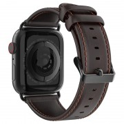 Dux Ducis Apple Watch Series 5/4/3/2/1 Leather Strap - 42mm, 44mm - Coffee