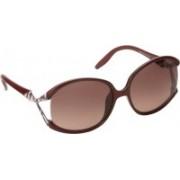 Emilio Pucci Oval Sunglasses(Pink)