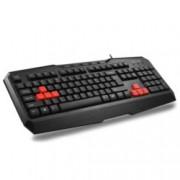 Клавиатура Delux DLK-9020U, черна, USB